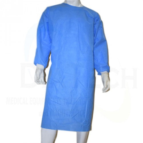 Gowns (Patient) (DISPOSABLE Non-STERILE  - Blue Color - different sizes )