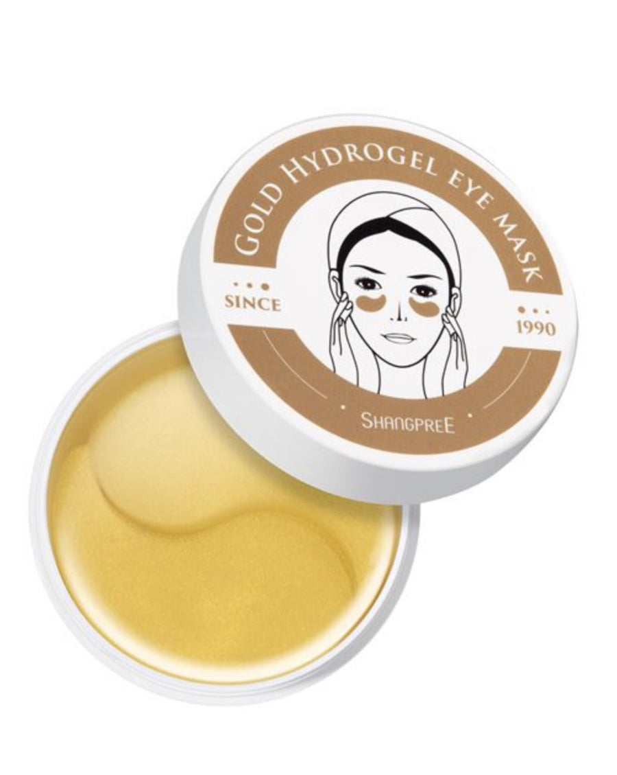 Gold Hydrogel Eye Mask By Shangpree