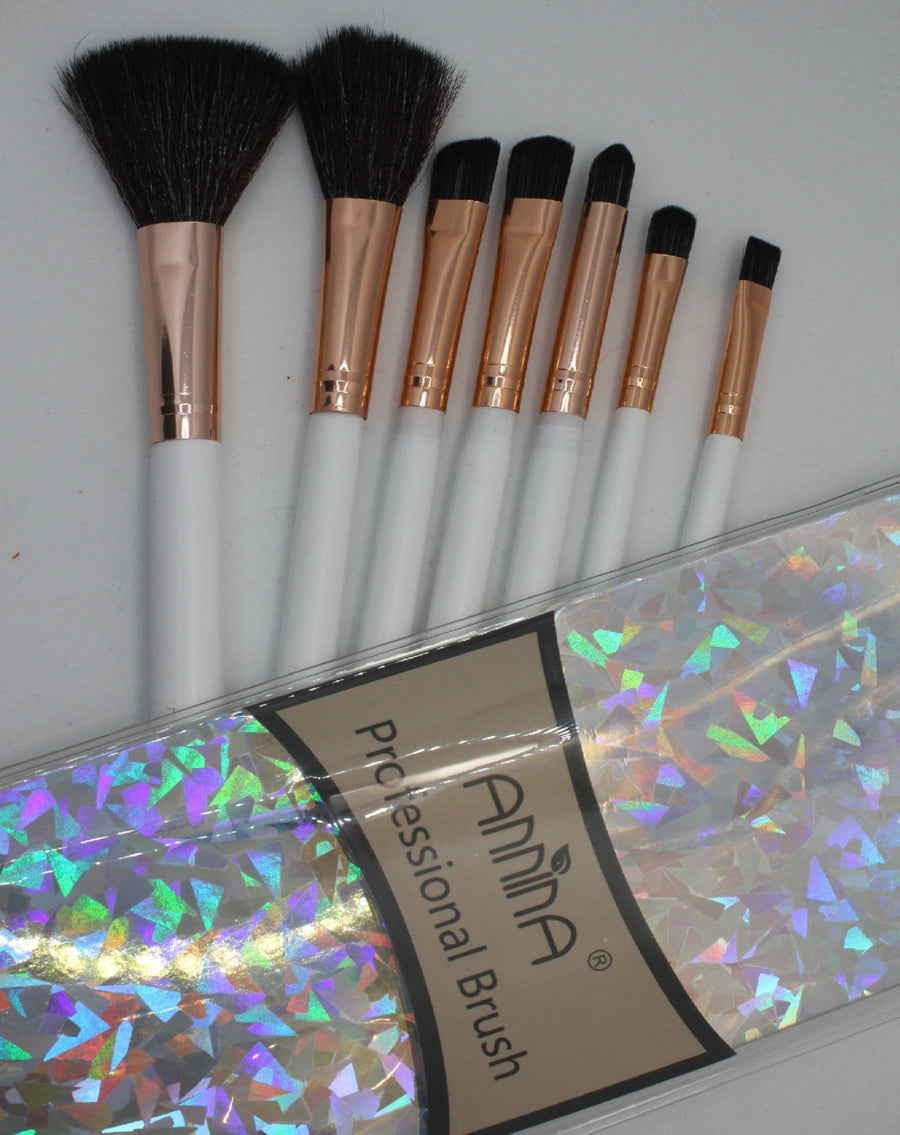 Eye Makeup Brush Set of 7 By Annina