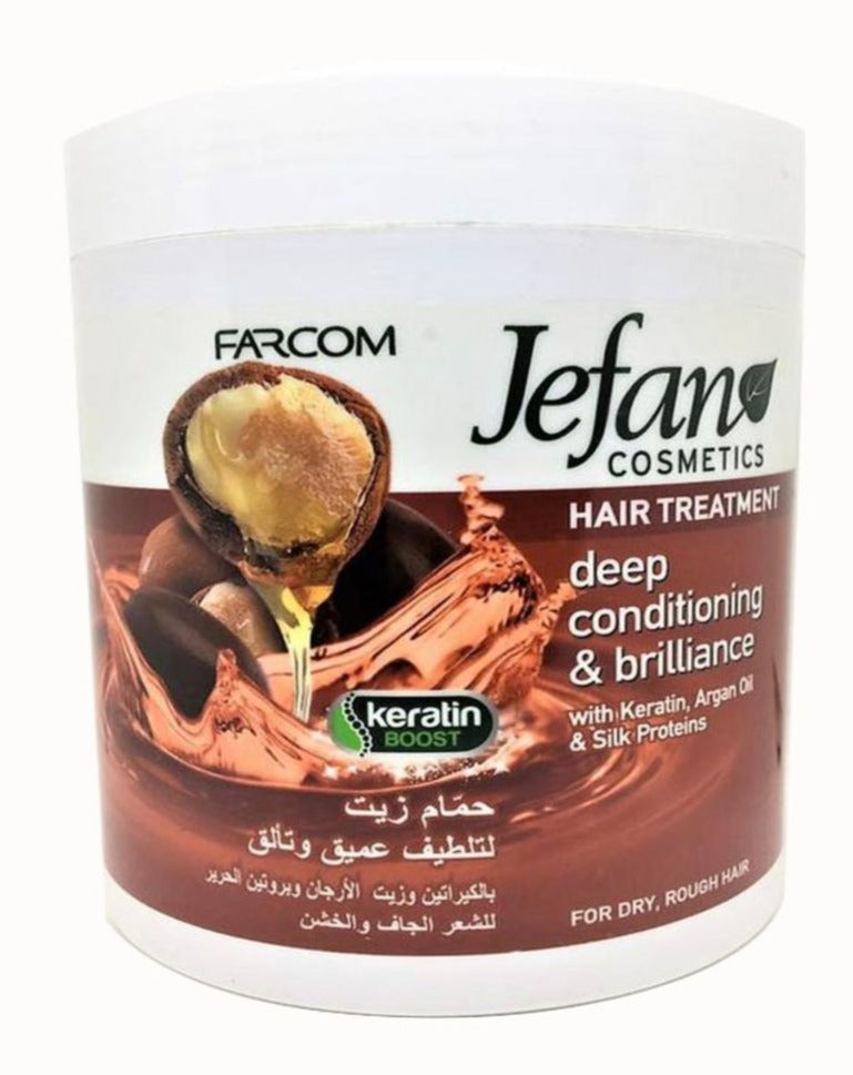 Hair Treatment-Argan By Farcom Jefan