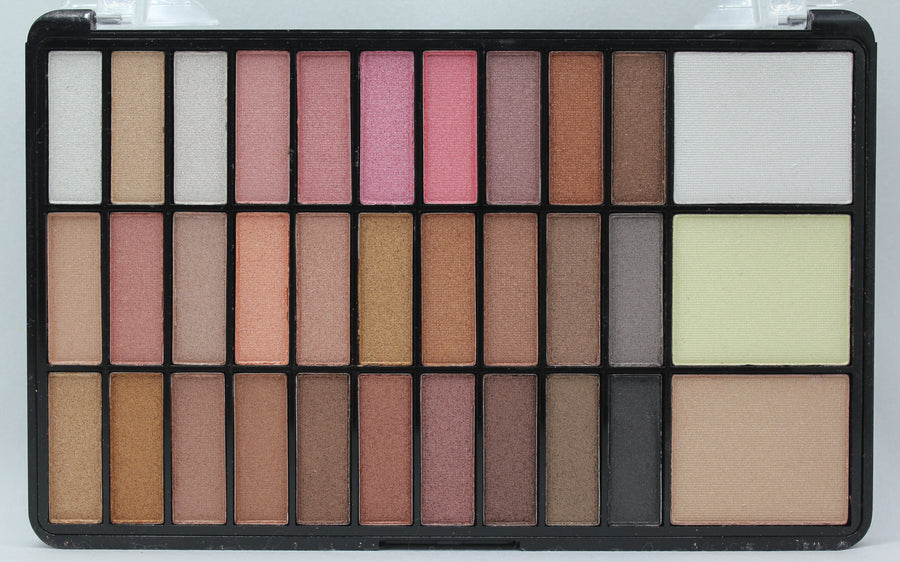 Eyeshadow & 3 Blusher Palette By Seven Cool