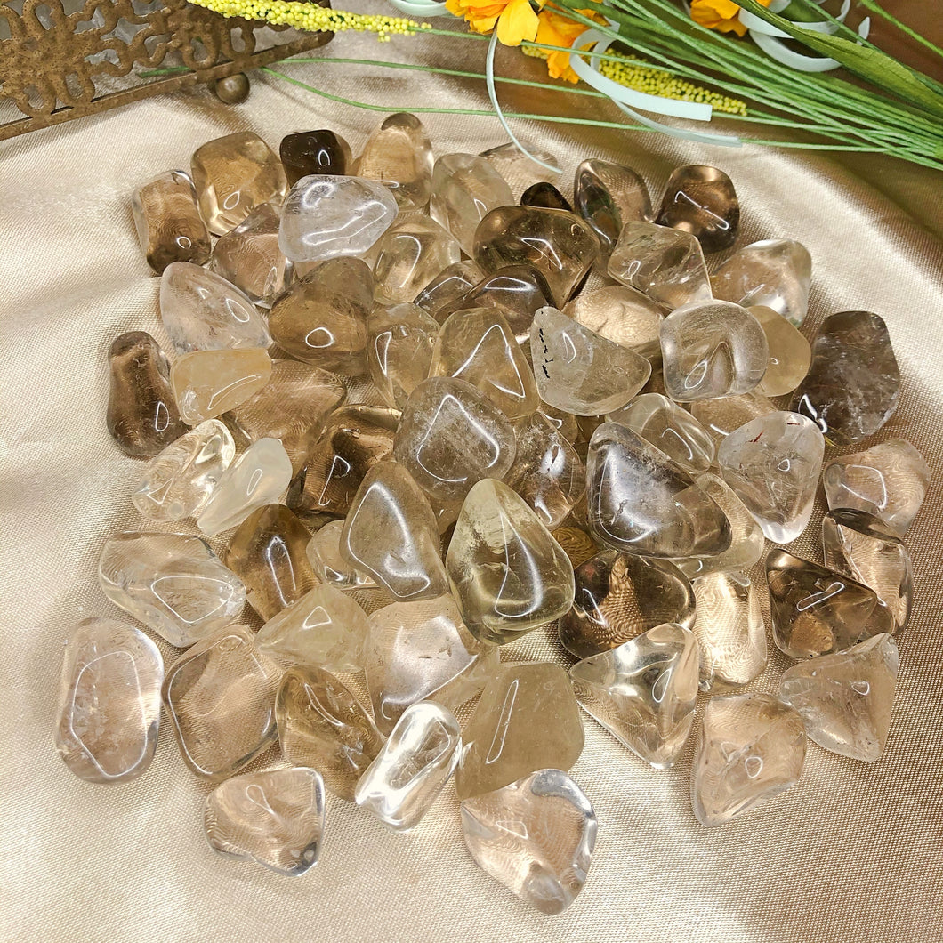 Natural Citrine Tumbled