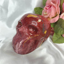 Load image into Gallery viewer, Mookaite Jasper Skull