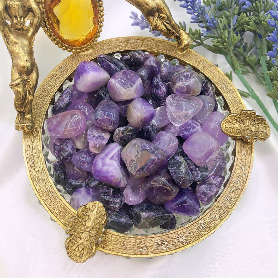 Amethyst Baggie ~ Mixed Sizes