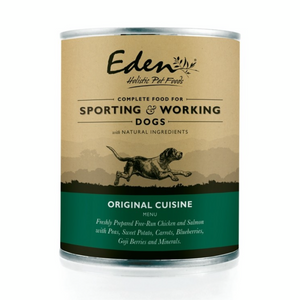 Eden Wet Food for Working and Sporting Dogs: Original
