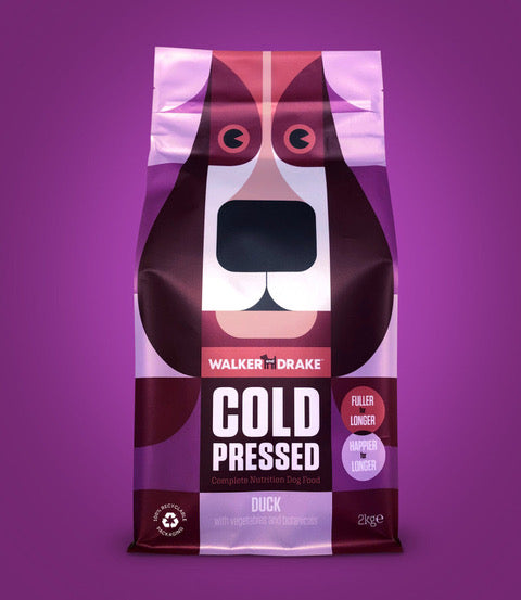 Walker and Drake Cold Pressed Dog Food - Duck