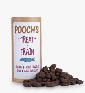Pooch's Salmon & Trout 'Train & Treat'(Gluten/Grain Free)