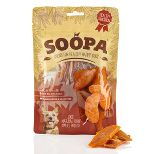 Soopa Natural Raw Sweet Potato Chews