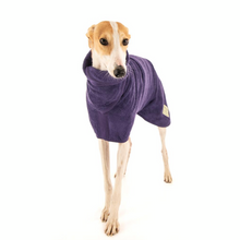 Load image into Gallery viewer, Ruff and Tumble Classic Dog Drying Coat (fabric trim)