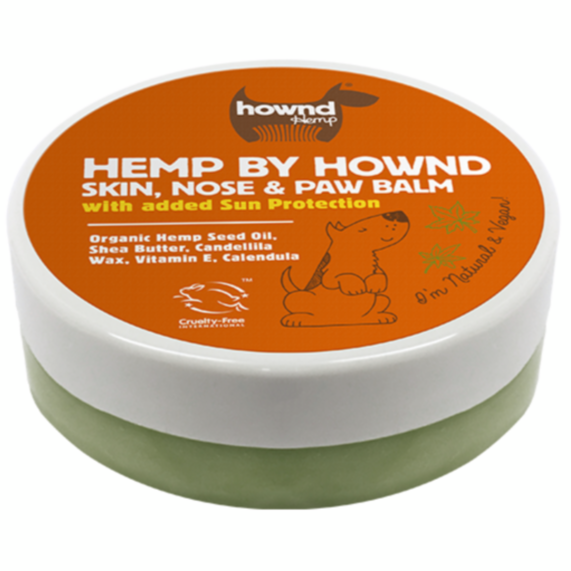 HOWND Hemp Skin Nose and Paw Balm with Sun Protection (50g)