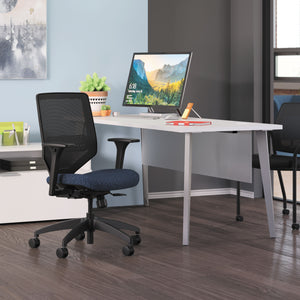 HON Voi Desk with Angled Legs Work from Home Office Furniture Solution