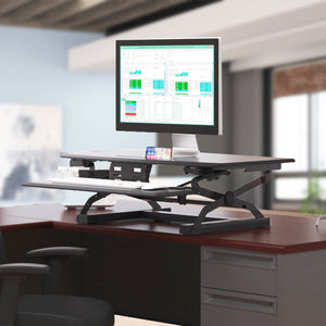 HON Coordinate Desk Riser Work from Home Office Furniture Solution