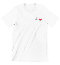 Lade das Bild in den Galerie-Viewer, Peace and Love T-Shirt für Frauen