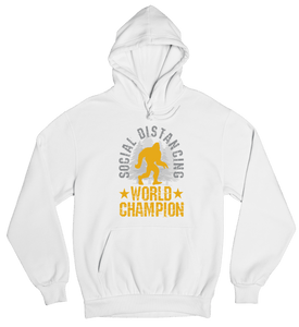 Social Distancing World Champion Hoodie Unisex