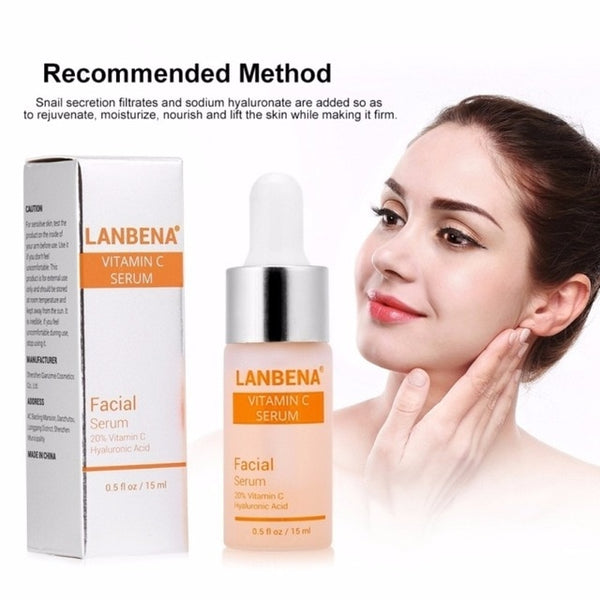 30ml Or 15ml Natural Vitamin C Serum Liquid Hyaluronic Acid Essence Moisturizng Anti Aging Anti Wrinkle Serum for Skincare TSLM2