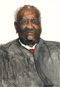 Portrait of Clarence Thomas