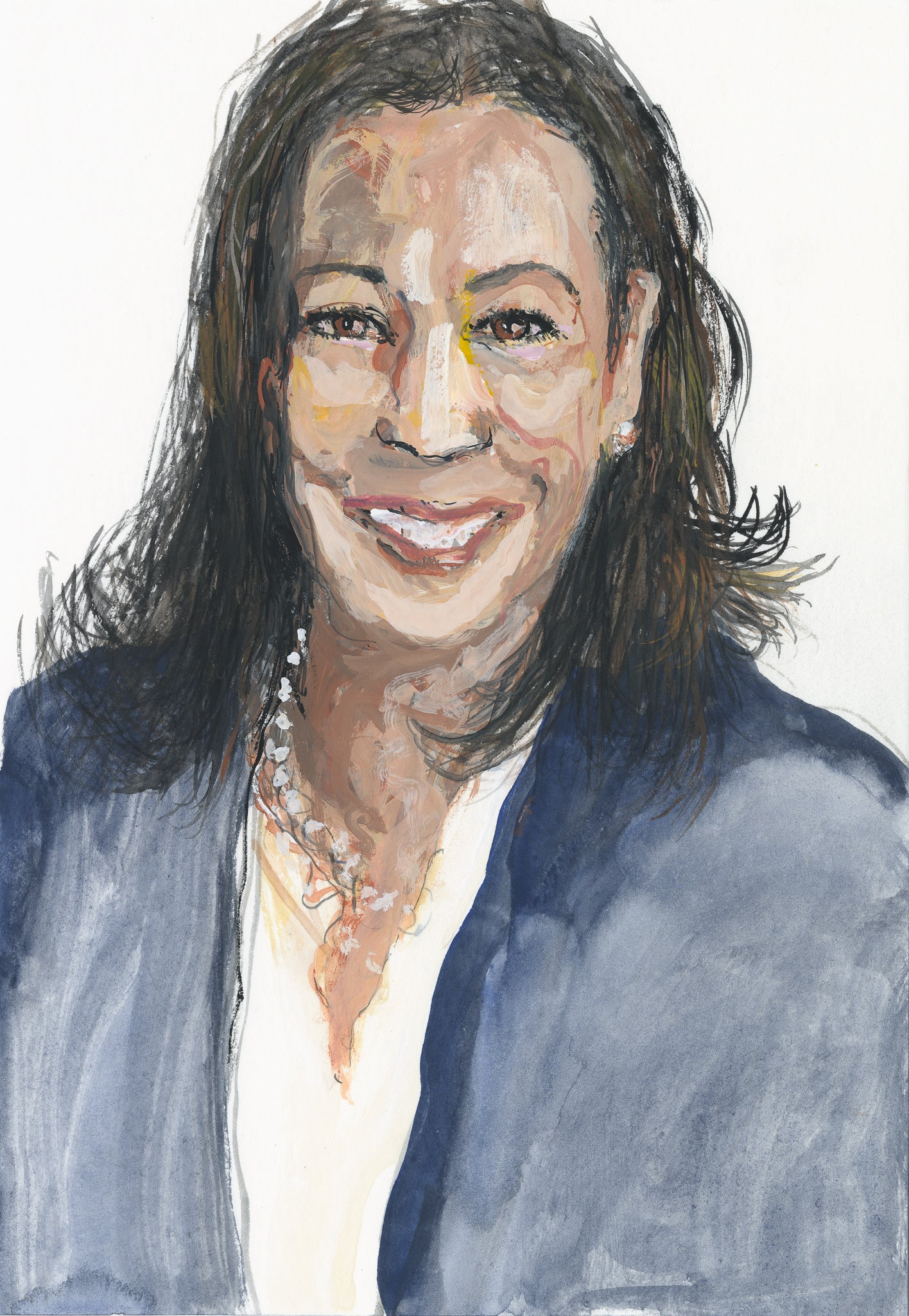 Portrait of Vice-President Kamala Harris - Study 1