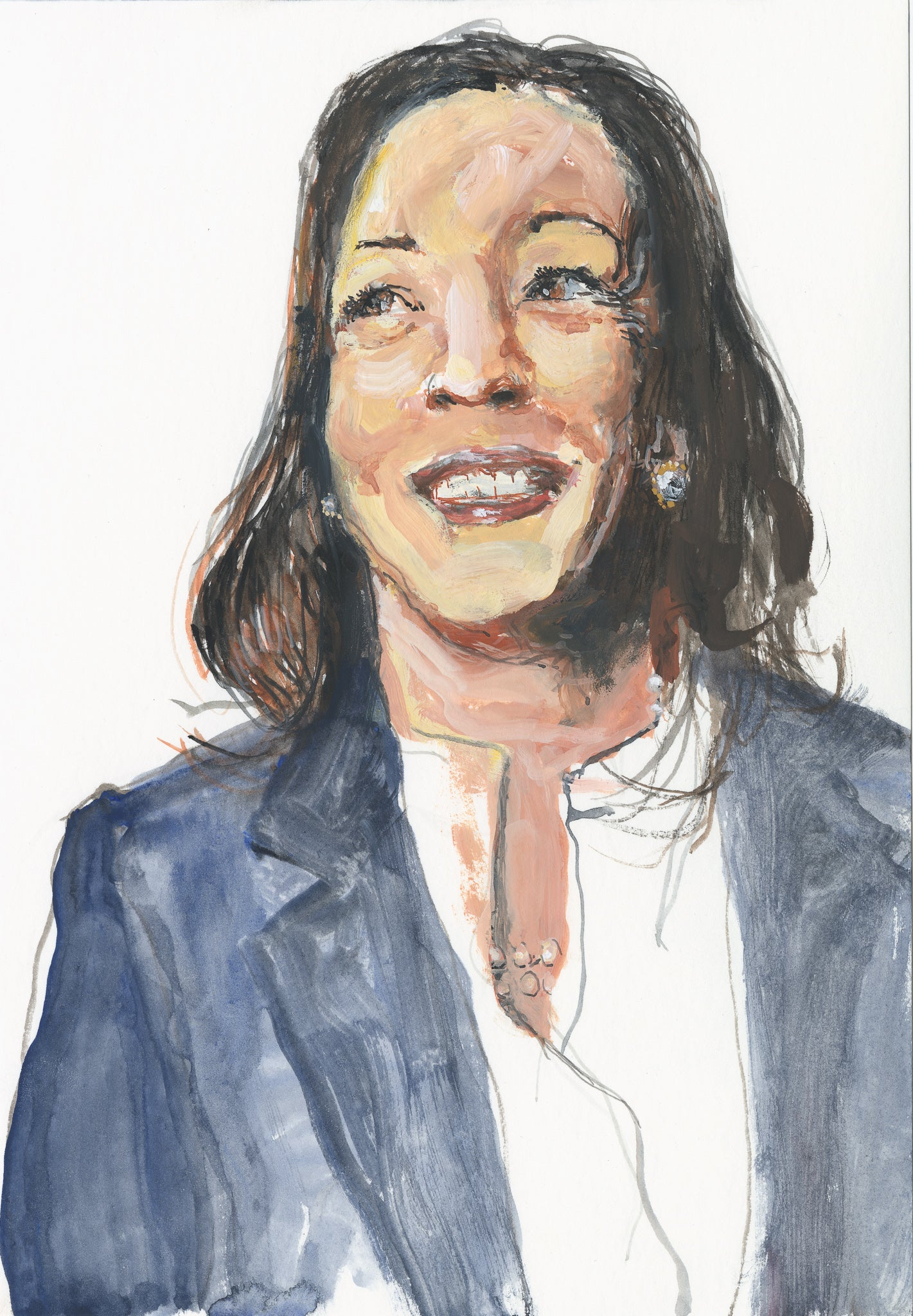 Portrait of Vice-President Kamala Harris - Study 2