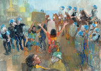 Monumental Protest Painting - I Can't Breathe