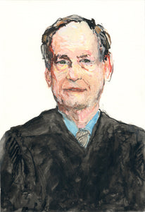 Portrait of Samual Alito