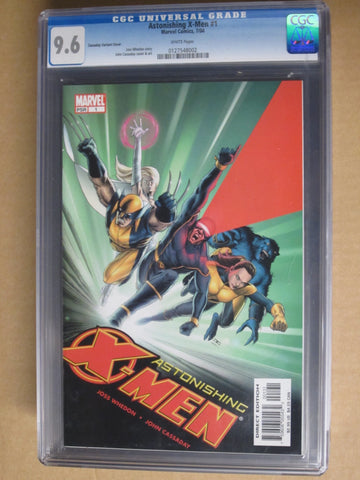 Astonishing X-Men #1 Cassaday Variant Cover CGC 9.6