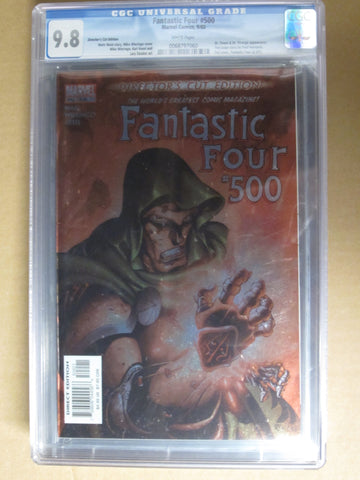 CGC 9.8 Fantastic Four #500 Director's Cut Edition, Gold Foil Cover