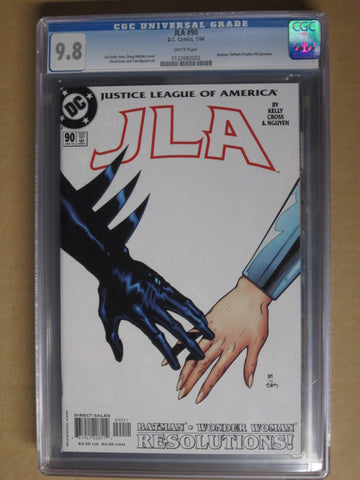 JLA #90 Batman/Wonder Woman CGC 9.8