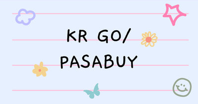 KR PASABUY/ALBUMS/OFFICIAL GOODS UPDATES
