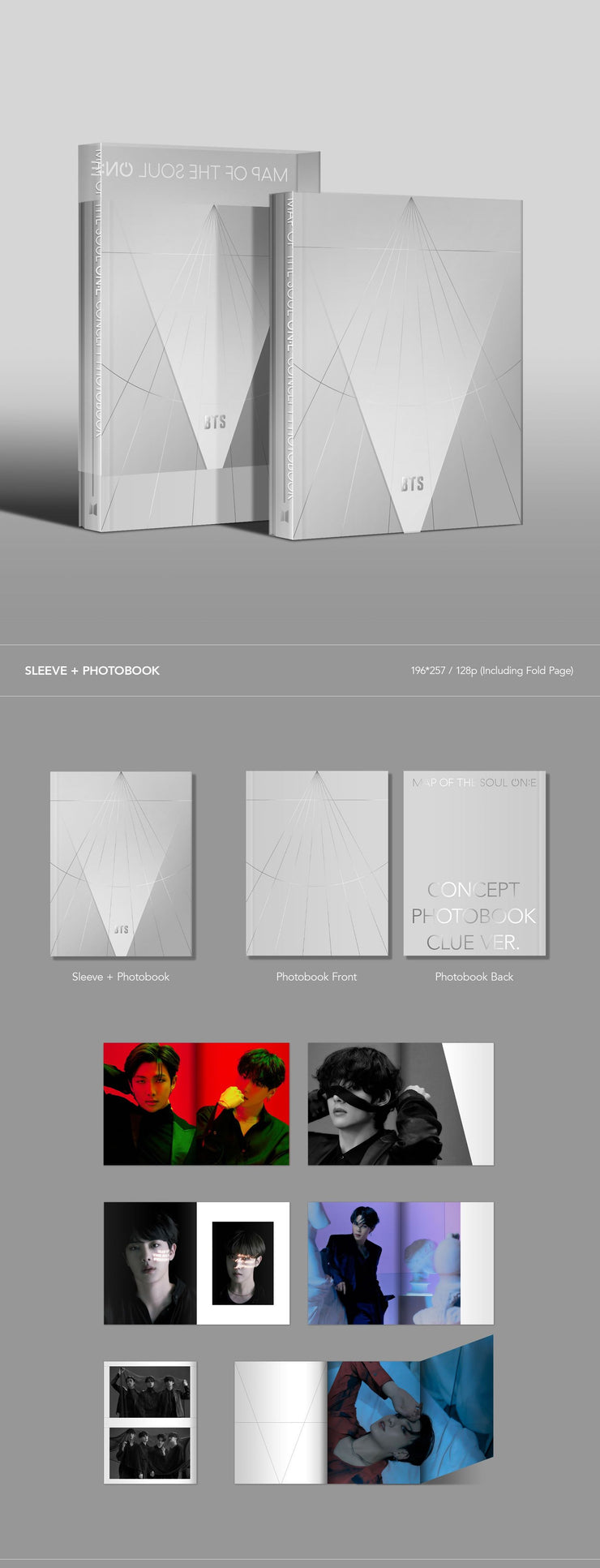 MOTS ON:E CONCEPT PHOTOBOOK - CLUE VER.