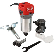 Load image into Gallery viewer, Excel 710W Electric Wood Hand Trimmer/Router 240V