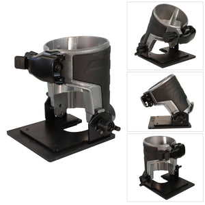 Excel Tilting Base Trimmer Router Multi Angle -30° to 45°