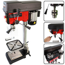 Load image into Gallery viewer, Excel 16mm Pillar Drill Bench Press Variable Speed 500W/230V