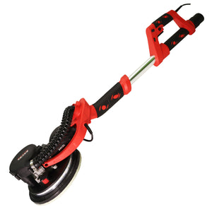 Excel 225mm Electric Drywall Sander 800W with LED Light Telescopic Handle