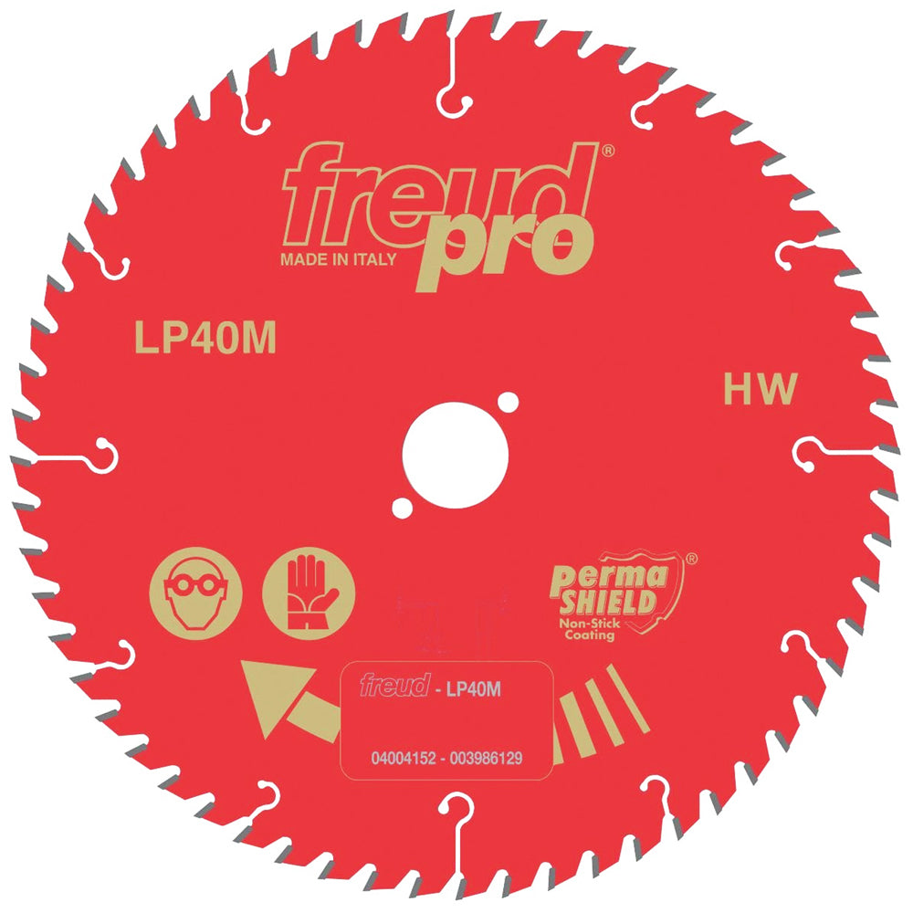 Freud 190mm x 30mm x 40T Cross Cut Circular Saw Blade LP40M 015