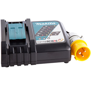 Makita DC18RC 14.4-18V Li-ion Fast Battery Charger Black 110V