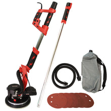 Load image into Gallery viewer, Excel 225mm Electric Drywall Sander 800W with LED Light Telescopic Handle