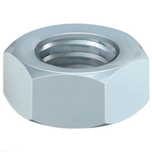 Timco 20HNUTZP Hex Nut DIN 934 BZP M20 Pack of 2