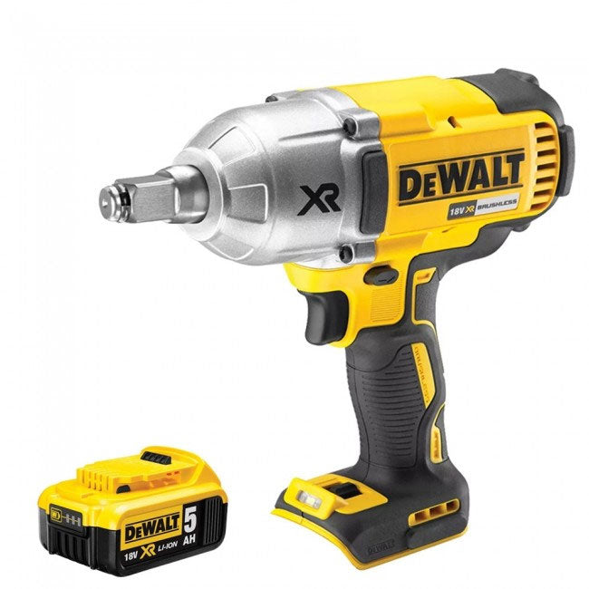 DeWalt DCF899HN 18V Brushless Impact Wrench With 1 x 5.0Ah Battery