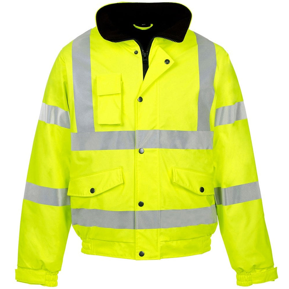 Supertouch 36842 HI-VIS Storm-Flex PU Bomber Jacket Medium