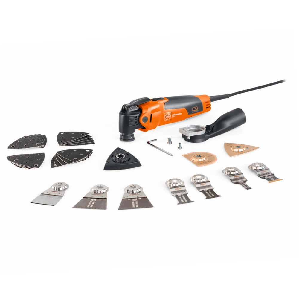 FEIN MM 500 Plus Top MultiMaster StarlockPlus MultiTool With Accessories 240V