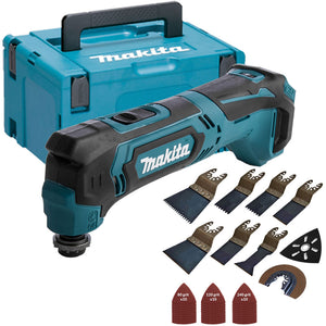 Makita TM30DZ 10.8v CXT Multitool with 39 Piece Accessories Set & Makpac Case