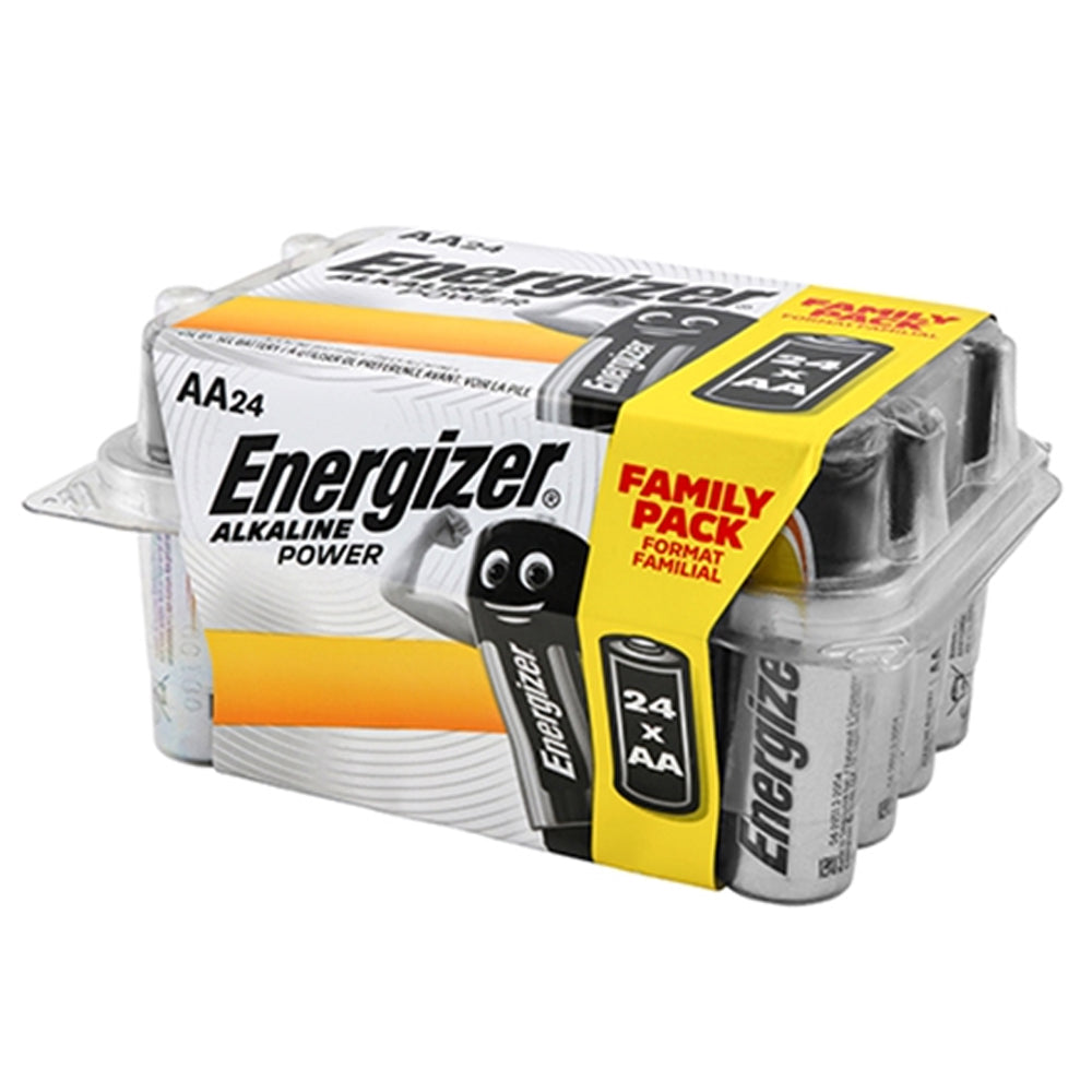 Energizer AA Battery Value Pack 24 Alkaline Power ENR414660