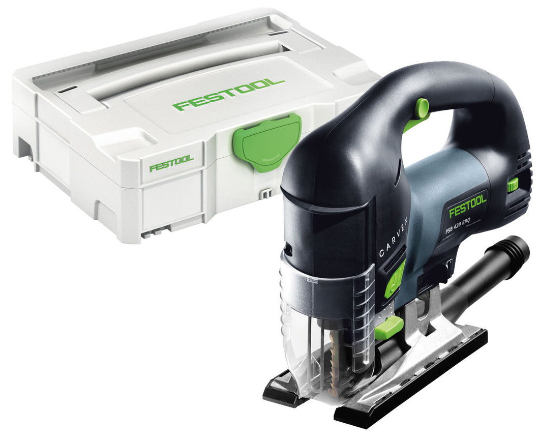 Festool PSB 420 EBQ-Plus 240V Pendulum Jigsaw Carvex in Case 561605