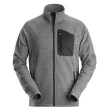 Load image into Gallery viewer, Snickers 80421804007 Grey/Black FlexiWork Fleece Jacket Size XL