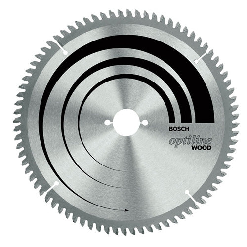 Bosch 305mm x 30mm x 80T Wood Circular Saw Blade Optiline 2608641769