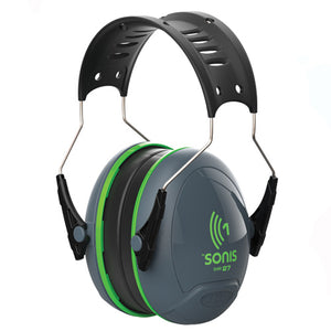 JSP Sonis 1 Overmoulded Small Cup Ear Defender SNR27 Green AEB010-0AY-800