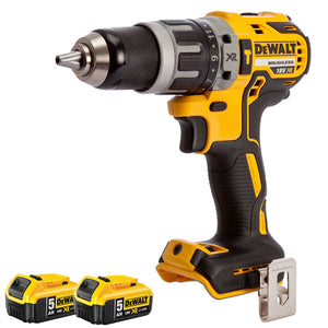 Dewalt DCD796N 18v XR Brushless 2 Speed Combi Drill With 2 x 5.0Ah Battery