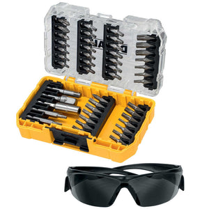 DeWalt DT70704-QZ Screwdriver Bit Set 47 Piece with Safety Glasses