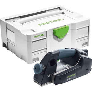 Festool EHL65EQ-Plus 110V 65mm One Handed Planer & T-Loc Case 576605