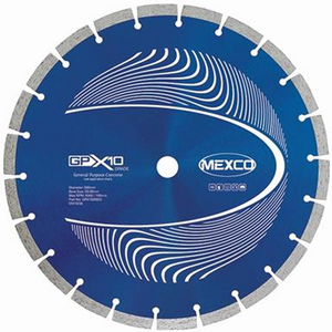 "Mexco 300mm 12"" Concrete Professional Grade Diamond Blade Cutting Disc"